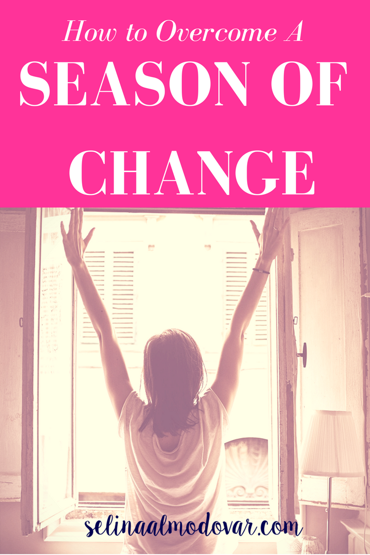 How to Overcome A Season of Change (Guest Post)